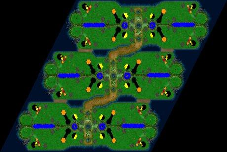 Settlers 3 Map: 12er_Kokospalme from LuckyStrike