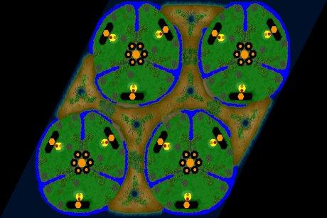 Settlers 3 Map: 12er_Tanz_der_Teufel from LuckyStrike