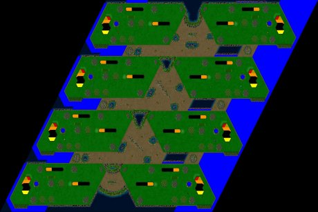 Settlers 3 Map: 768_8_Equalize_mirror_not_flat from LatinoHead