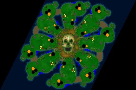 Settlers 3 Map: 8-Klabautermaenner from LuckyStrike
