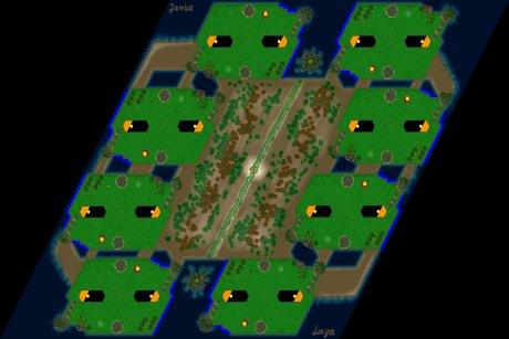 Settlers 3 Map: 8-Kurwa from Jamba Laya