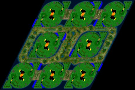 Siedler 3 Map: 8er HotTripTraX von LuckyStrike