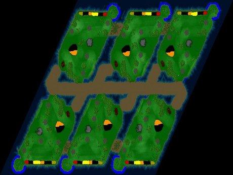 Settlers 3 Map: Lottes Fischmangel from CC Dej