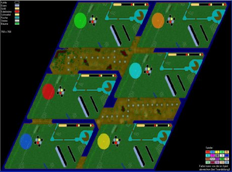 Settlers 3 Map: Pacman LG-6 from ramstein