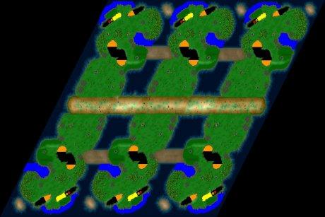 Siedler 3 Map: six-Lolland von LuckyStrike
