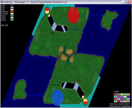 Settlers 3 Map: 448-2_CM_Boomerrang from admin