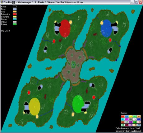 Siedler 3 Map: 512-4_Roxette von admin
