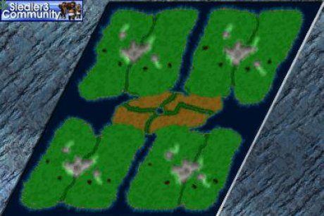 Settlers 3 Map: 768_Sdfx_NewBigRiver from admin