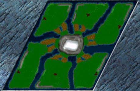 Settlers 3 Map: The classic-map from admin