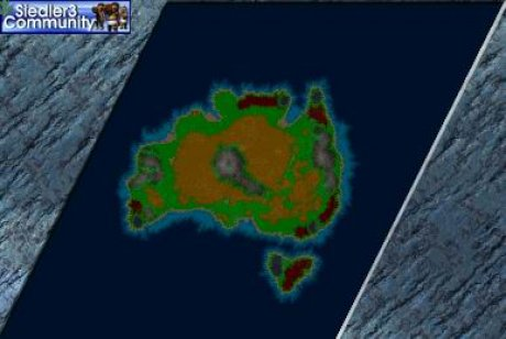 Settlers 3 Map: Australia from abahatchi