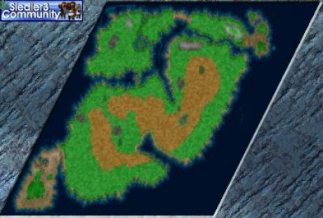 Settlers 3 Map: CAS P - Unter fremder Sonne from abahatchi
