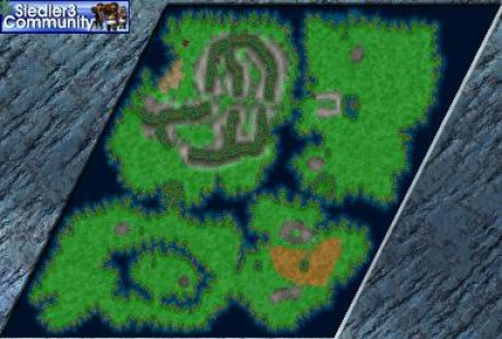 Settlers 3 Map: CAS04 - Das Piratennest from abahatchi
