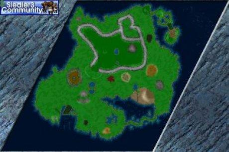 Siedler 3 Map: CAS11 - Vorhof zur H?lle von abahatchi