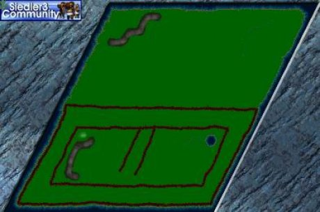 Siedler 3 Map: Castlemania 3 - The Wall von abahatchi