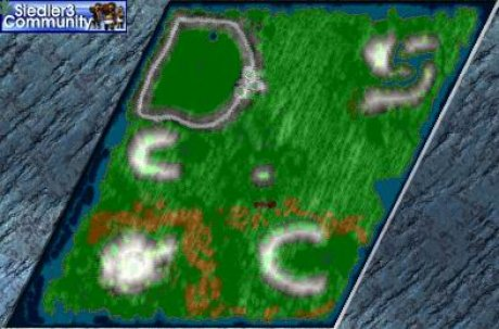 Settlers 3 Map: Chinesenwein5 from abahatchi