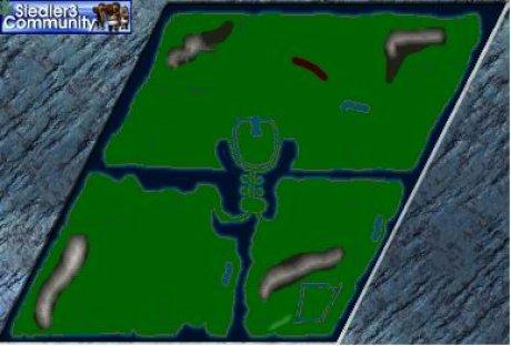 Siedler 3 Map: Der Engpass von abahatchi