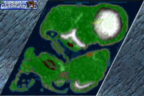 Settlers 3 Map: DerTempelberg _ by Brain from abahatchi