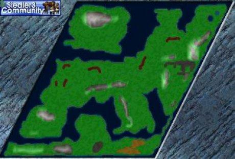 Settlers 3 Map: Imperium Romanum Gloriosum from abahatchi
