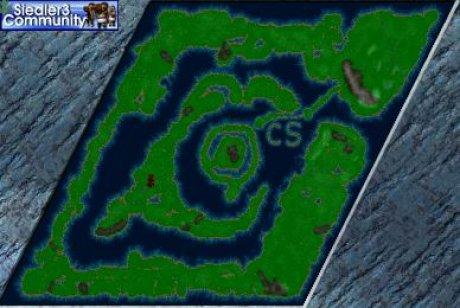 Siedler 3 Map: Isle of Gold (mit Amazonen) von abahatchi