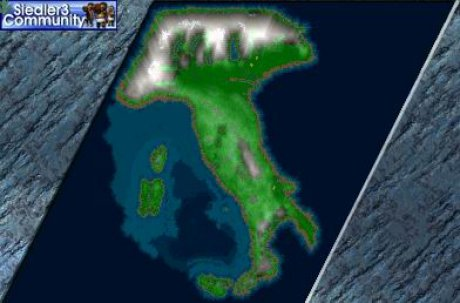 Settlers 3 Map: Italy from abahatchi