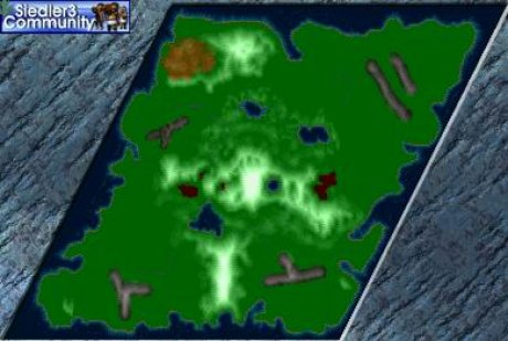 Settlers 3 Map: moose mountain 3 from abahatchi