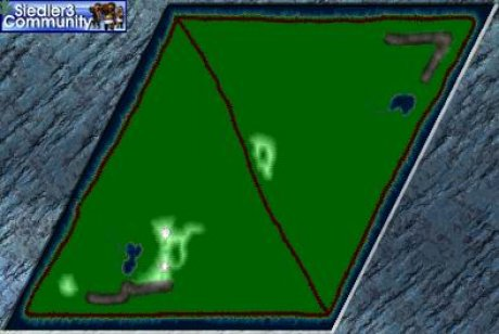 Settlers 3 Map: Mountain King from abahatchi
