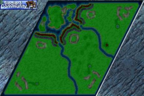 Settlers 3 Map: NO CHANCE_hd-Single-Mission-byElly from abahatchi