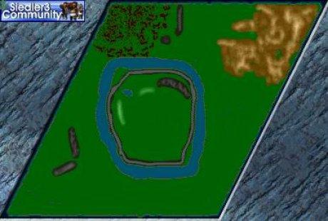 Siedler 3 Map: Tripod von abahatchi
