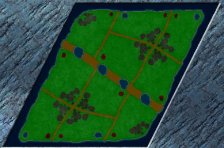 Settlers 3 Map: 8SeenNF from Schnegge