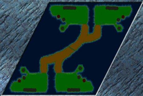 Settlers 3 Map: Gladiatoren Gemetzel^4 from Gladiator von ROM