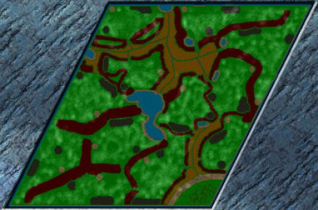 Settlers 3 Map: Marshy-fun-for-12-Players from Gladiator von ROM