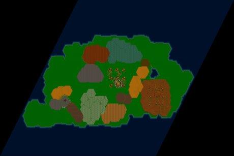 Settlers 3 Map: METZEL HR from Die Siedlerlegende