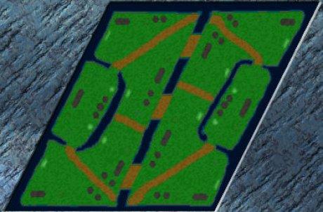 Siedler 3 Map: Newbees behind von Waldschrat