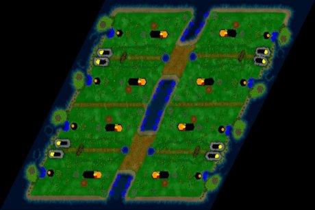 Siedler 3 Map: schneekoenig eisenfisch von tintifax