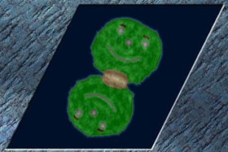 Settlers 3 Map: Zaehneknirscher M1 from Passpartout
