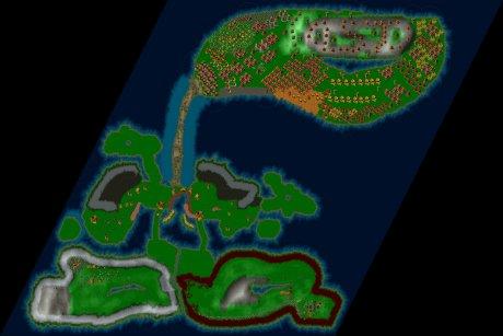 Siedler 3 Map: Eingeschlossen von Klaus