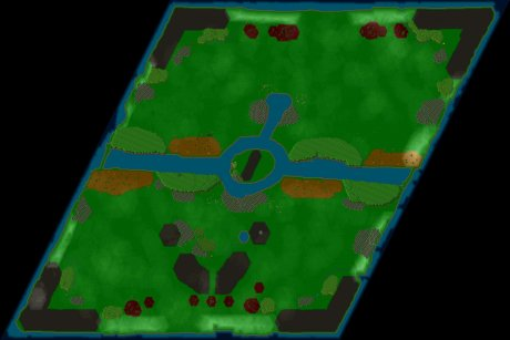 Siedler 3 Map: 3v2 von Synthetiker