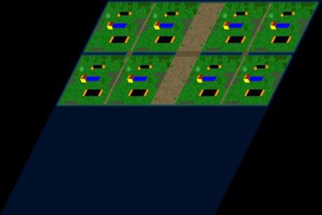 Siedler 3 Map: 8er-Mid is Fish von MiMoldi