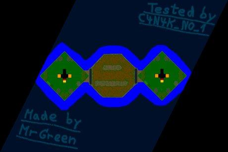 Settlers 3 Map: 2er Alien Flat Remastered from MrGreen