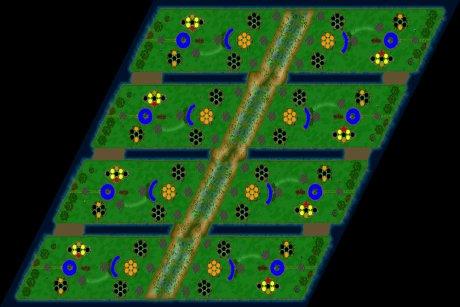 Settlers 3 Map: 8er-Ultima from LuckyStrike