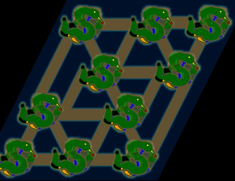 Siedler 3 Map: 10er_SnakeWar von jay