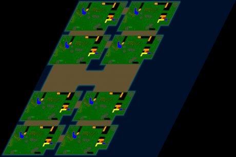 Siedler 3 Map: 8er-Quibblsche_Kissenschlacht von Zimtstein