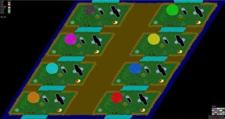 Siedler 3 Map: Fetz-8 von poca