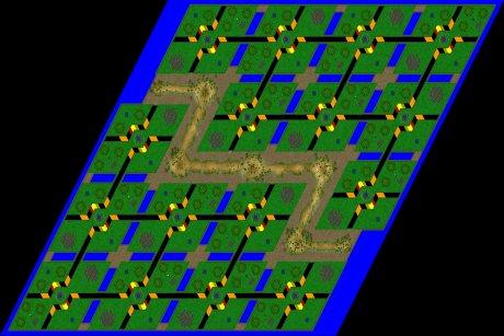 Siedler 3 Map: 16er_Bomberman von mad