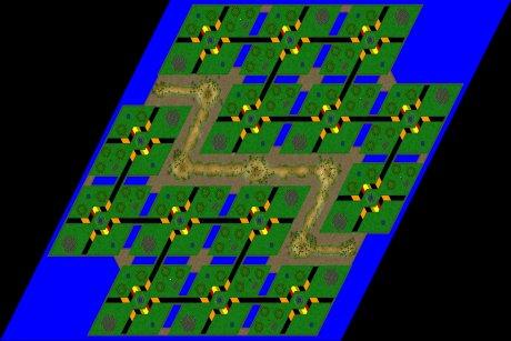 Siedler 3 Map: 14er_Bomberman von mad