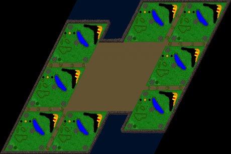 Siedler 3 Map: 8er__Showdown von mad