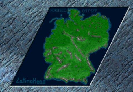 Siedler 3 Map: LatinoHeads DEUTSCHLAND von LatinoHead