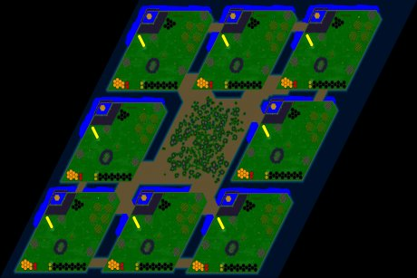 Settlers 3 Map: 768_8_Schaetzelchen from chriissii