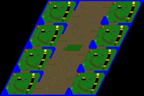 Settlers 3 Map: 8er_Der_Letzte_Sommer from mad
