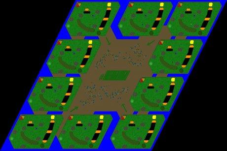 Settlers 3 Map: 10er_Der_Letzte_Sommer from mad